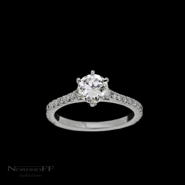 diamond custom rings cushion gold halo ring products jewellery engagement white cut image